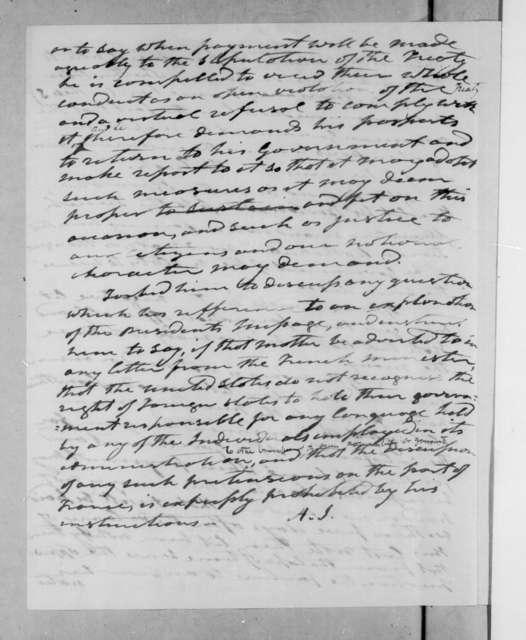 Andrew Jackson, September 14, 1835
