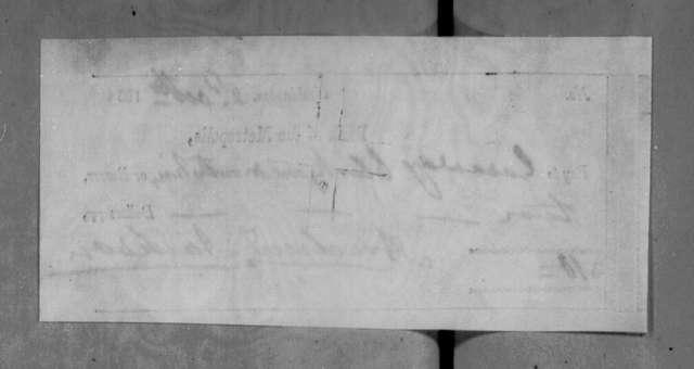 Andrew Jackson to Gasaway Clark, October 2, 1835
