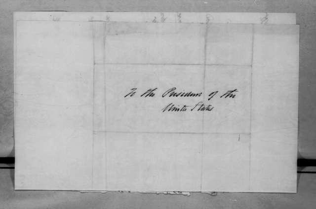 Bemjamin S. Bonsall to Andrew Jackson, October 25, 1835
