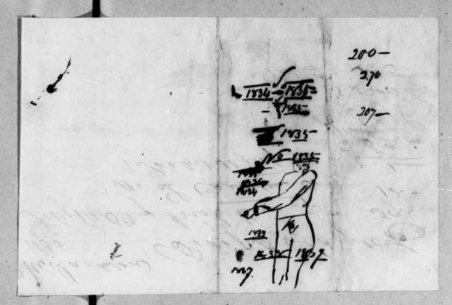 Darius Clagett & Co. to Sarah Yorke Jackson, February 27, 1835