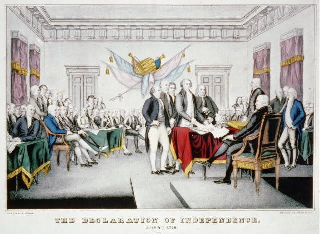 Declaration of Independence: July 4th 1776