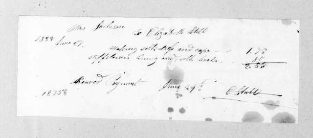 Elizabeth Stott to Sarah Yorke Jackson, June 29, 1835