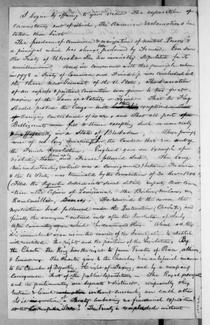French Chamber of Deputies, March 29, 1835