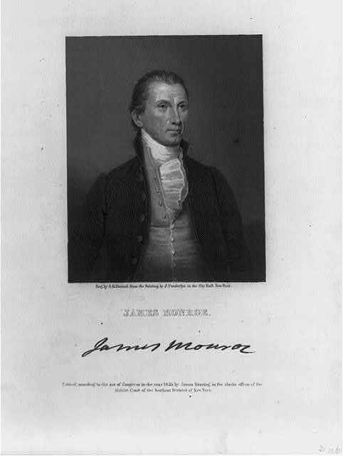 James Monroe, Pres. U.S., 1758-1831