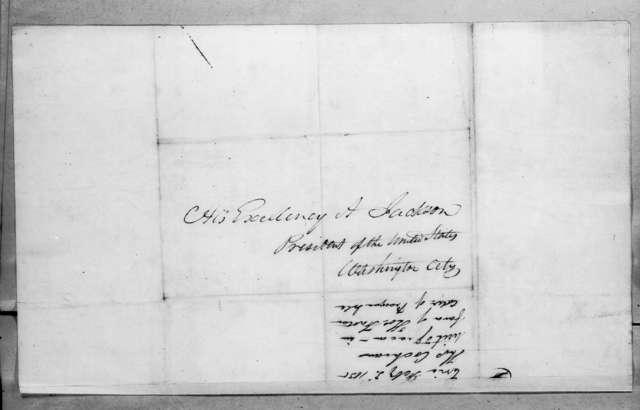 John Cochran to Andrew Jackson, February 3, 1835