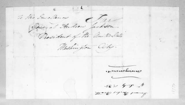 Junius Brutus Booth to Andrew Jackson, July 4, 1835