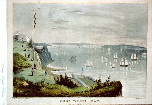 New York Bay: from the telegraph station