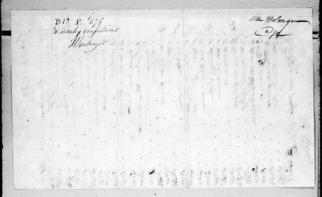 Paul Kinchy to Joseph Boulanger, July 30, 1835