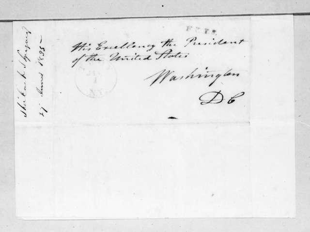Shirlock Gregory to Andrew Jackson, June 27, 1835