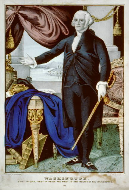Washington: first in war, first in peace, and first in the hearts of his countrymen