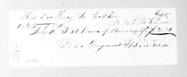 William P. McKelden to Andrew Jackson, July 11, 1835