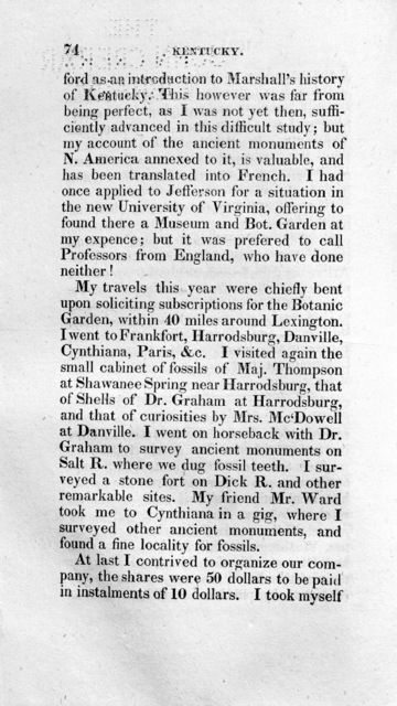 A life of travels and researches in North America and south Europe : or, Outlines of the life, travels and researches of C.S. Rafinesque