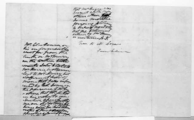 Abram Poindexter Maury to Hardy M. Cryer, October 24, 1836