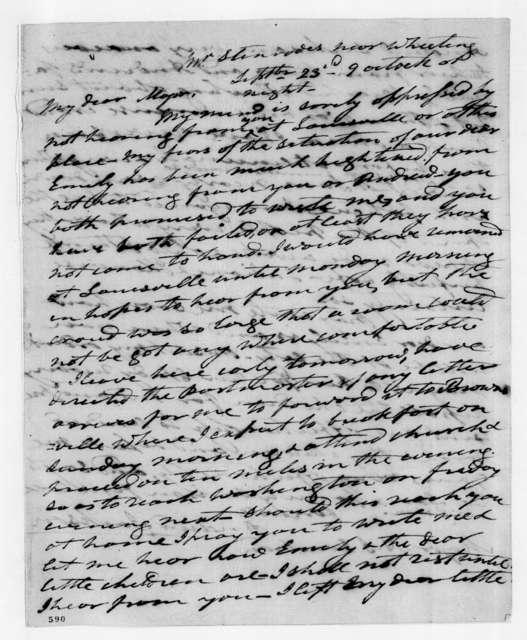 Andrew Jackson to Andrew Jackson Donelson, September 23, 1836
