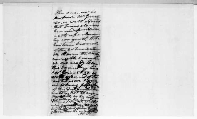 Asbury Dickins to Andrew Jackson, August 1, 1836