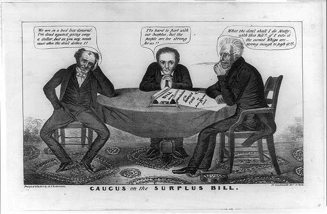 Caucus on the Surplus Bill