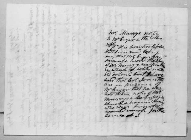 Hardy Murfree Cryer to Abram Poindexter Maury, October 29, 1836