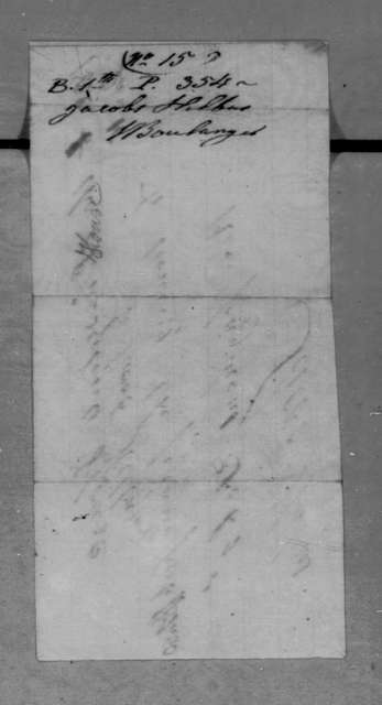 Jacob Hilbus to Andrew Jackson, January 16, 1836