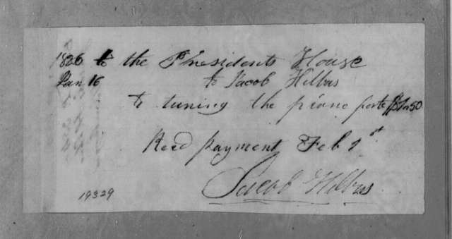 Jacob Hilbus to Andrew Jackson, January 16, 1836
