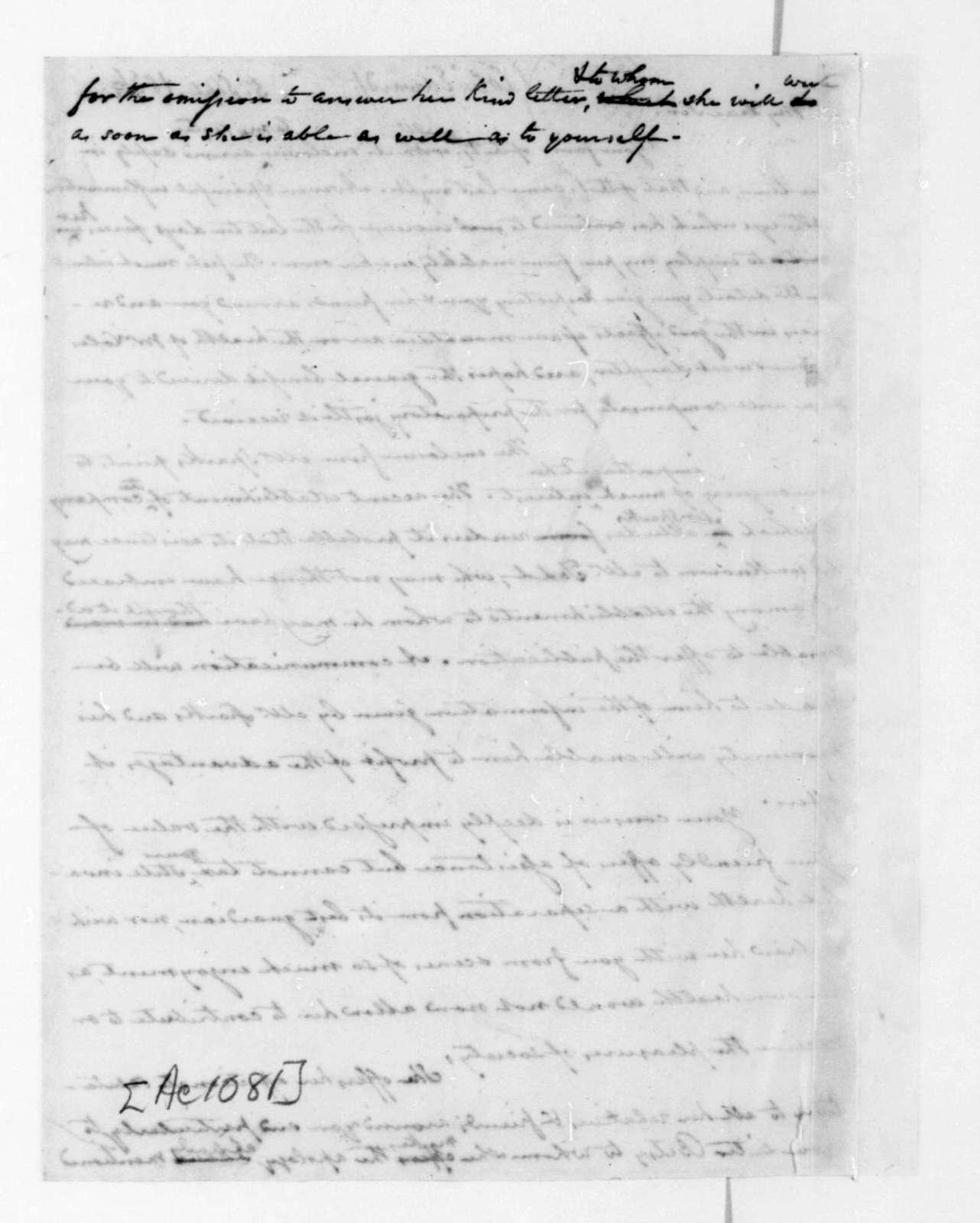 John C. Payne to Edward Coles, September 5, 1836.