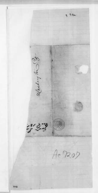 John Henry Eaton to Andrew Jackson