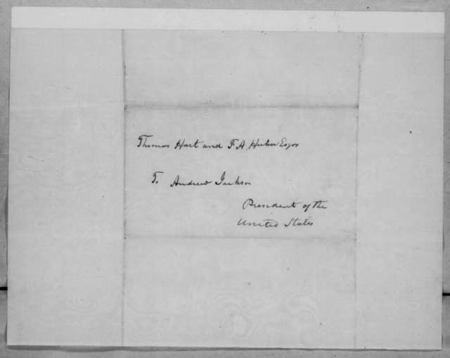 John Naglee to Andrew Jackson, June 28, 1836