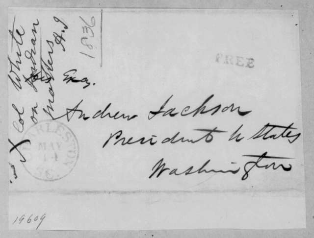 Joseph Maunsel White to Andrew Jackson, May 14, 1836