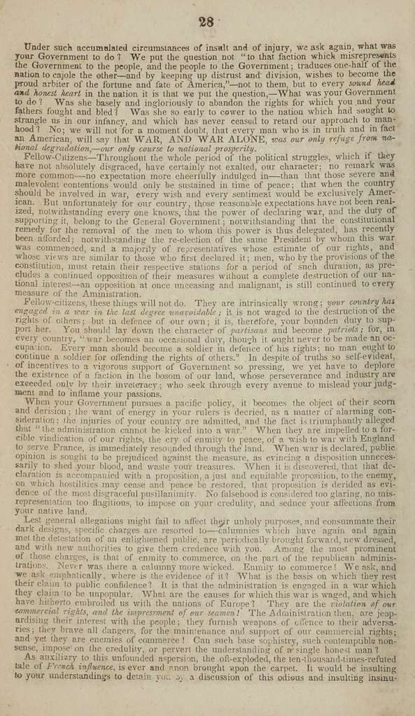 Opinions of Martin Van Buren, vice president of the United States, upon the powers and duties of Congress, in reference to the abolition of slavery either in the slaveholding states or in the District of Columbia