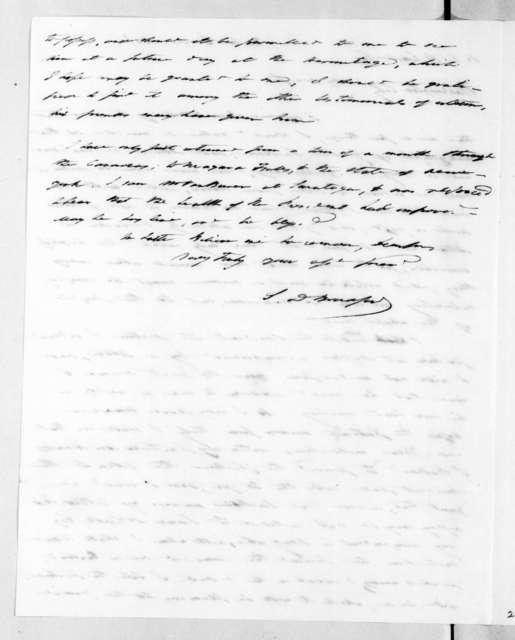 Samuel D. Bradford to Ralph Eleazer Whiteside Earle, September 6, 1836