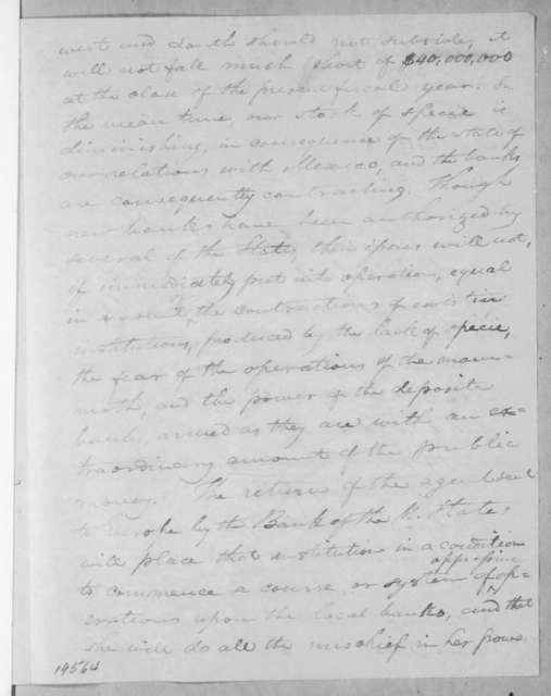 Shadrach Penn Jr. to Andrew Jackson, April 26, 1836