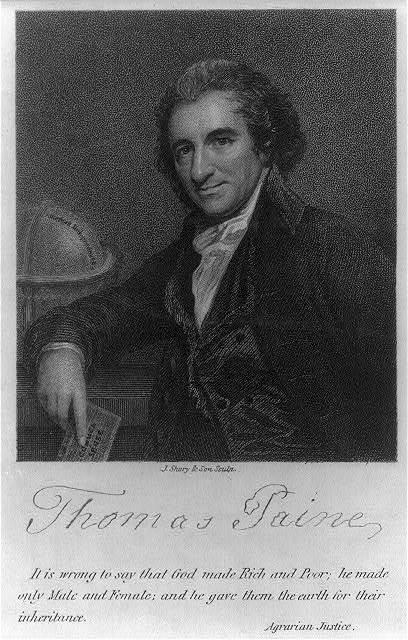 Thomas Paine / J. Shury & Son sculp.
