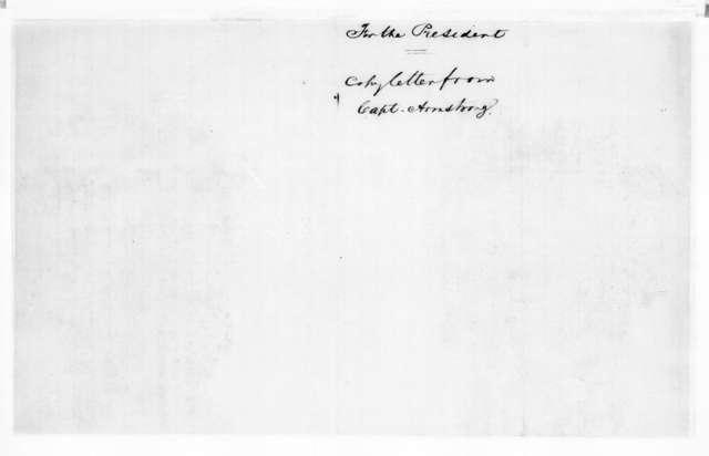 William Armstrong to Elbert Hening, June 23, 1836