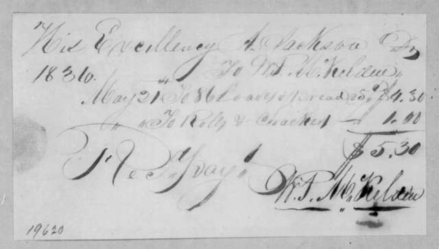 William P. McKelden to Andrew Jackson, May 21, 1836