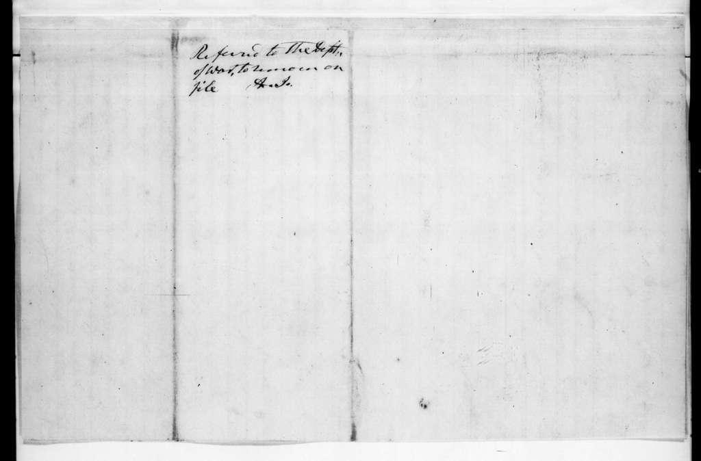 William Strong to John R. Sanford, April 8, 1836
