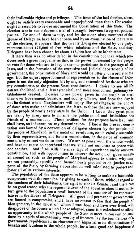 A brief outline of the rise, progress, and failure of the revolutionary scheme of the nineteen Van Buren electors of the Senate of Maryland, in the months of September, October, and November, 1836 ...