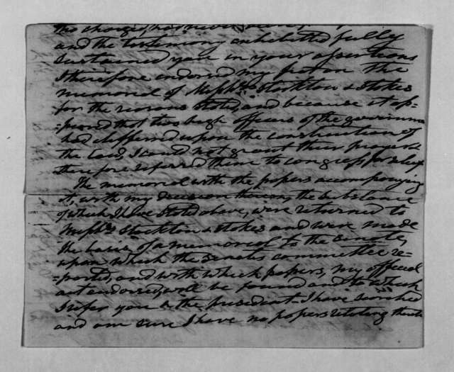 Andrew Jackson to Amos Kendall, August 26, 1837
