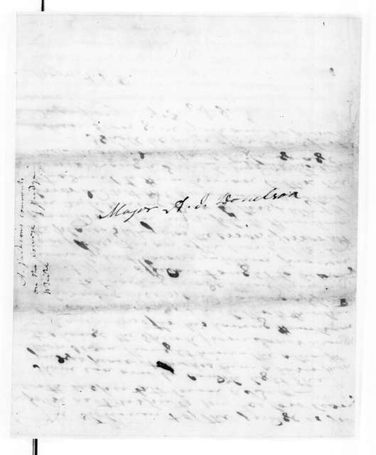 Andrew Jackson to Andrew Jackson Donelson, July 15, 1837