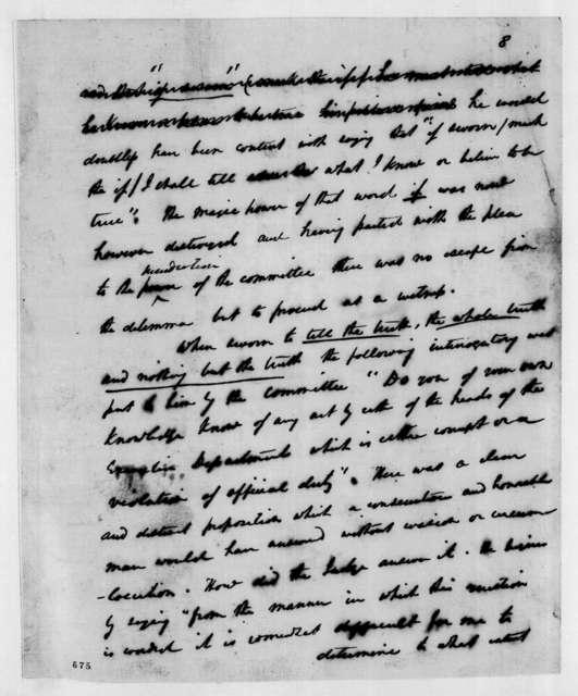 Andrew Jackson to Hugh Lawson White, June 13, 1837