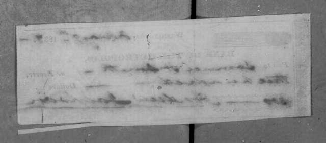 Andrew Jackson to Samuel H. Smith, February 9, 1837