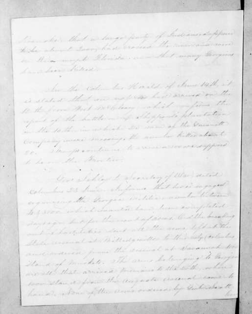 Andrew Jackson to Scott W.