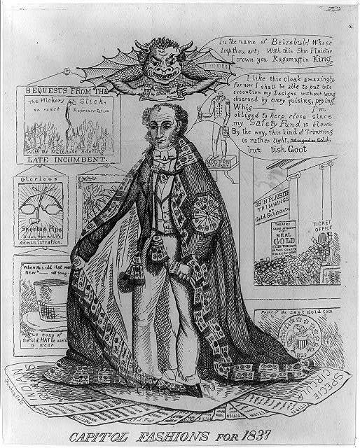 Capitol fashions for 1837