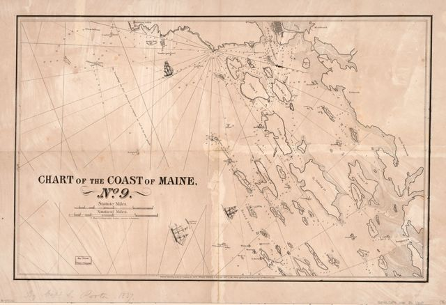 Chart of the coast of Maine /