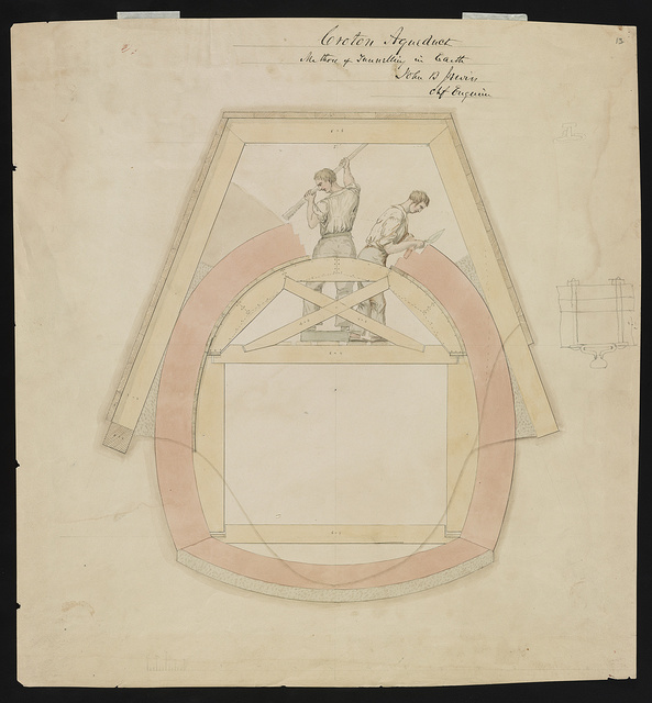 [Croton Aqueduct, (Westchester Co., New York). Method of tunnelling in earth] / John B. Jervis, chf. engineer.