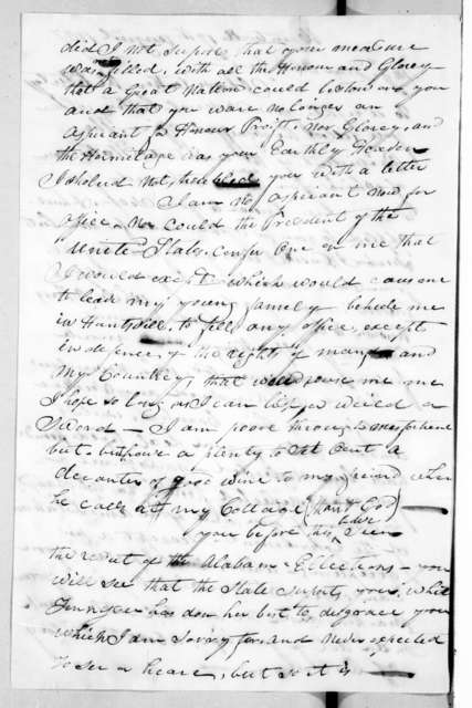Neil B. Rose to Andrew Jackson, August 17, 1837