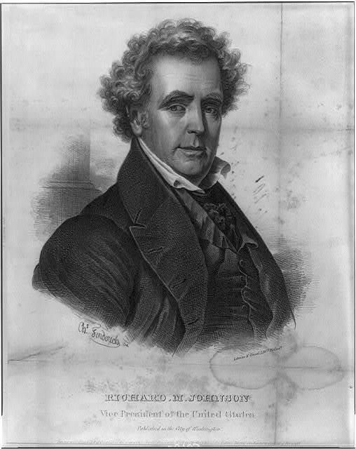 Richard M. Johnson, Vice President of the United States