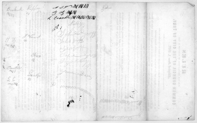 Rules for the transaction of business in the Common Council of the City of Troy. Adopted June 1, 1837.