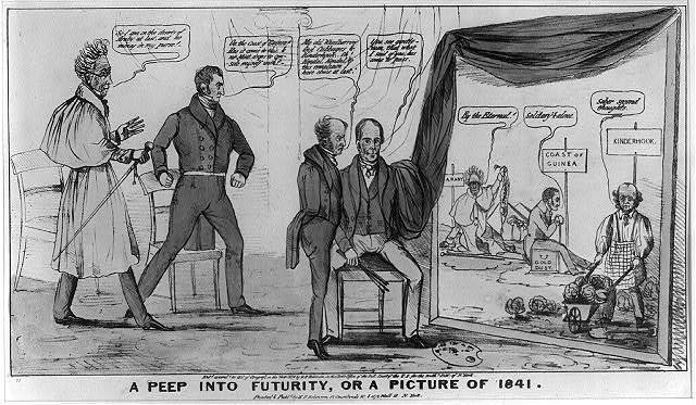 A peep into futurity, or a picture of 1841