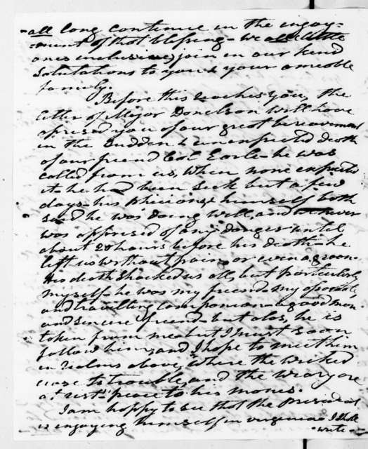 Andrew Jackson to Francis Preston Blair, September 27, 1838