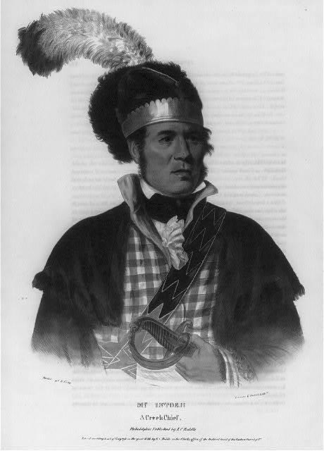 McIntosh. A Creek chief
