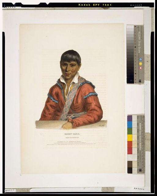 Paddy-carr. Creek interpreter / A.H. ; drawn, printed and coloured at I. T. Bowen's lithographic establishment, No. 94 Walnut St.